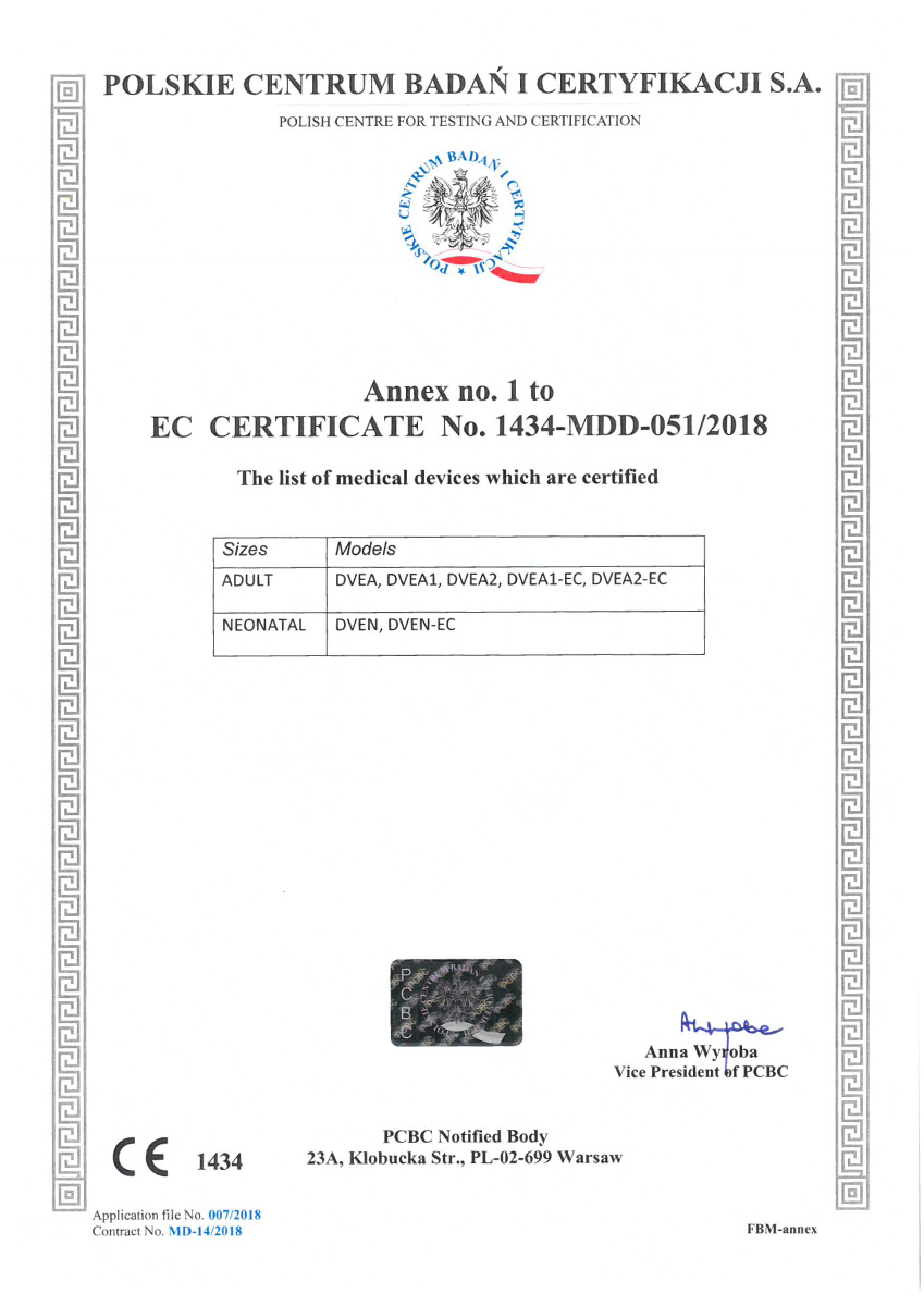 Certificado CE DVE 02 - Hpbio