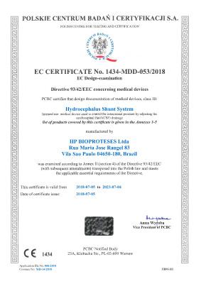 Certificação CE Sphera Hpbio