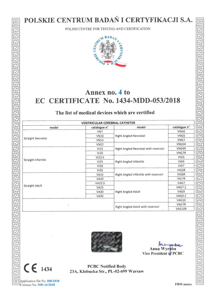 Certificado CE Sphera shunt 05 - Hpbio