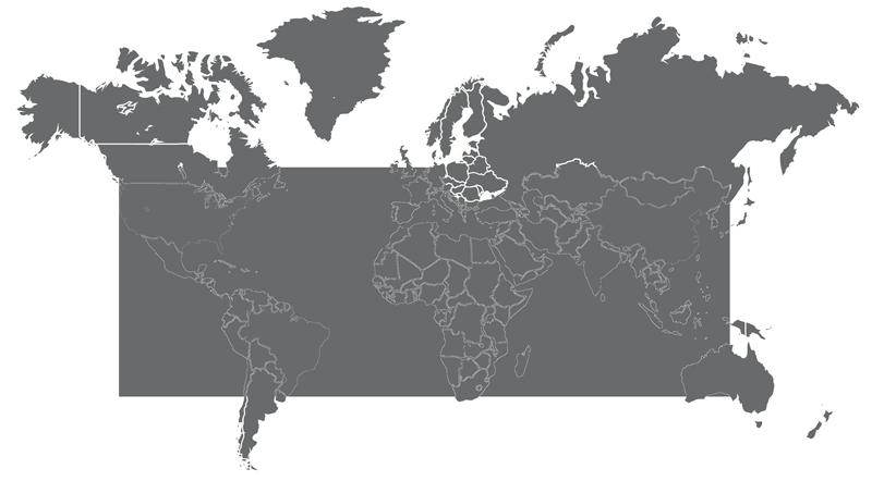 HpBio Mapa Mundi  HpBio  Prteses