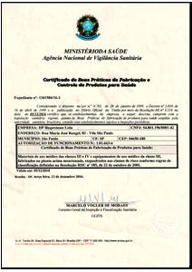 Hpbio | Certificado de Boas Práticas